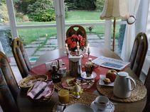 Genussvolles Frühstück in der Pension Franz