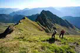 Bergwandern im Zillertal
