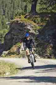 Mountainbiker im Zillertal