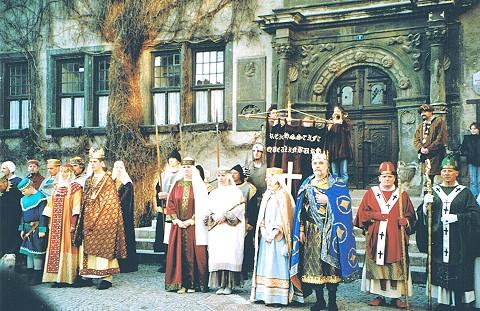 Kaiserfrühling in Quedlinburg
