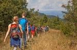 Wandertour durch die Wildnis im Landschaftsschutzgebiet Schemnitzer Berge